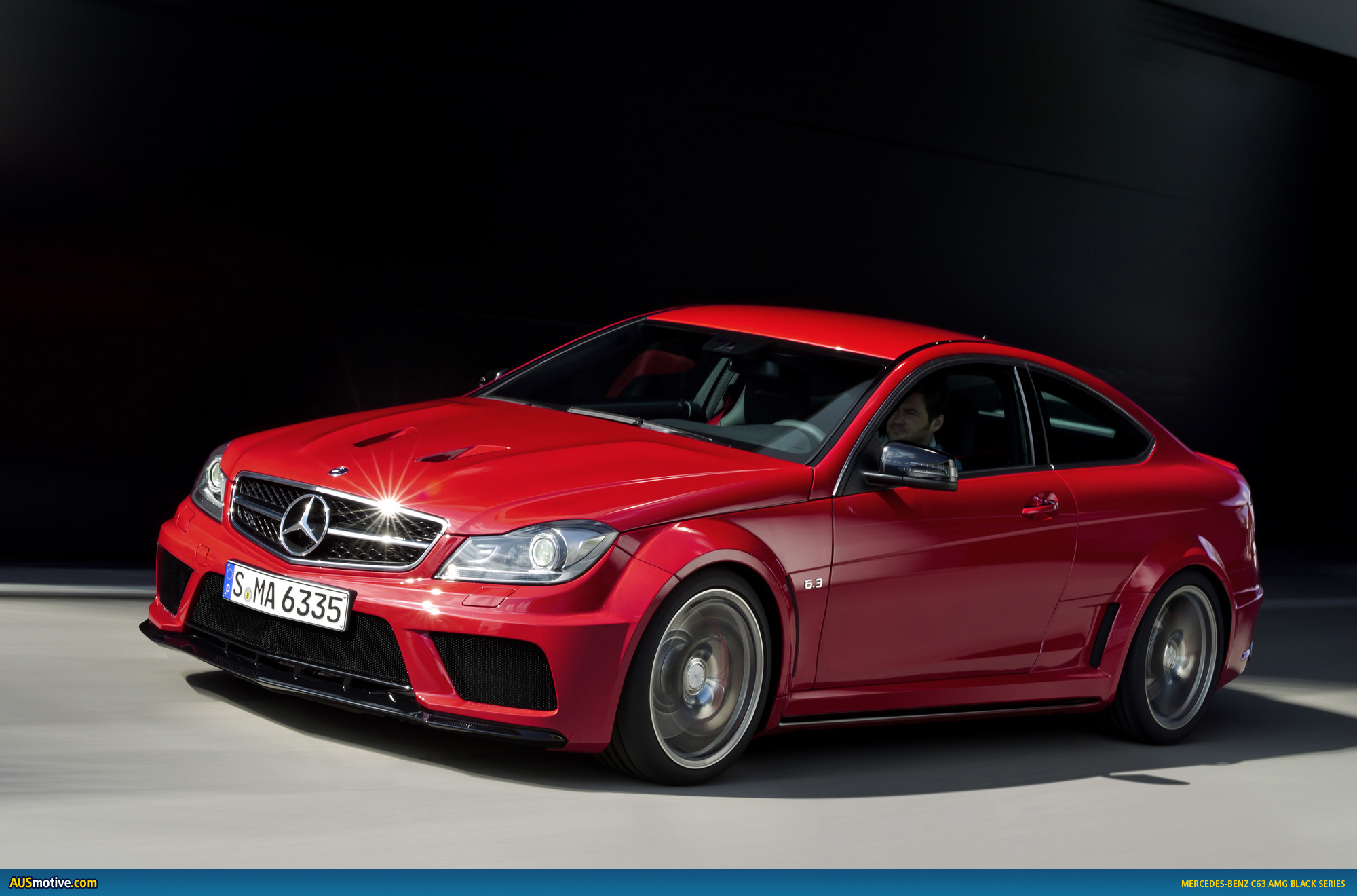 Mercedes benz c63 amg coup black series for C63 mercedes benz
