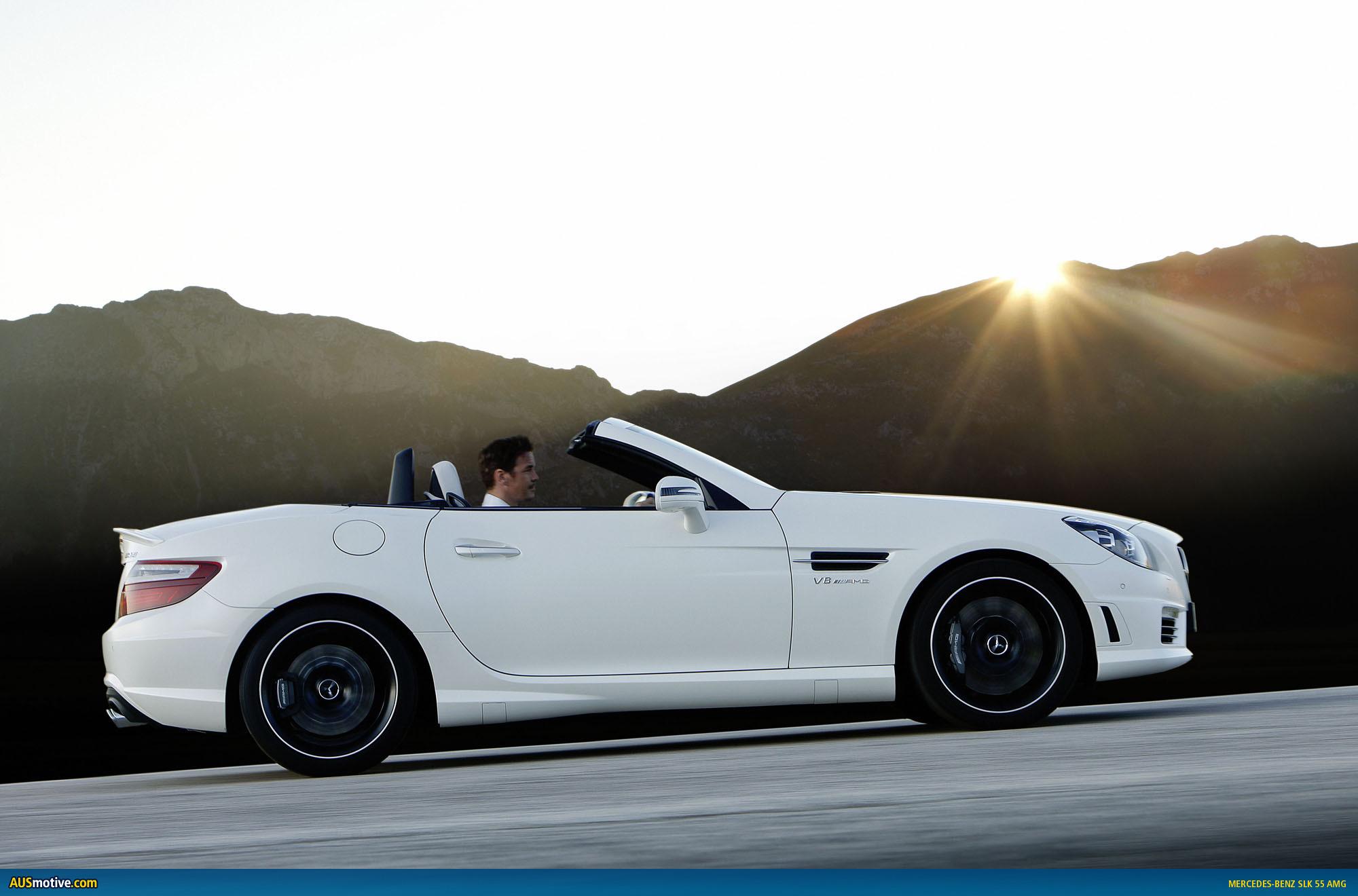 Mercedes benz slk 55 amg australian pricing for Mercedes benz mbrace cost