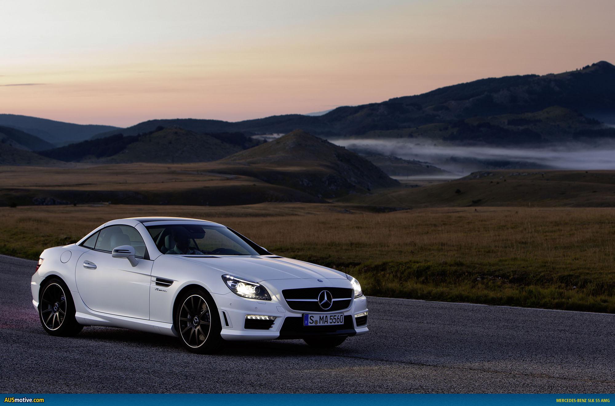 2012 mercedes benz slk 55 amg for Mercedes benz amg 55