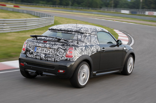MINI Coupé preview
