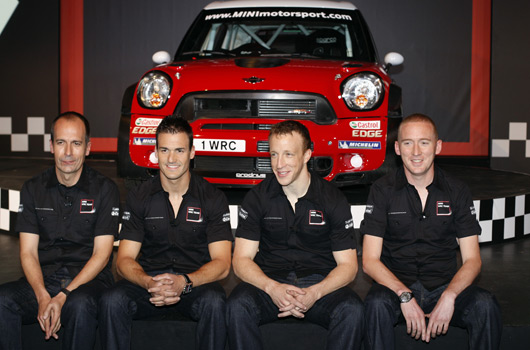 MINI WRC team launch