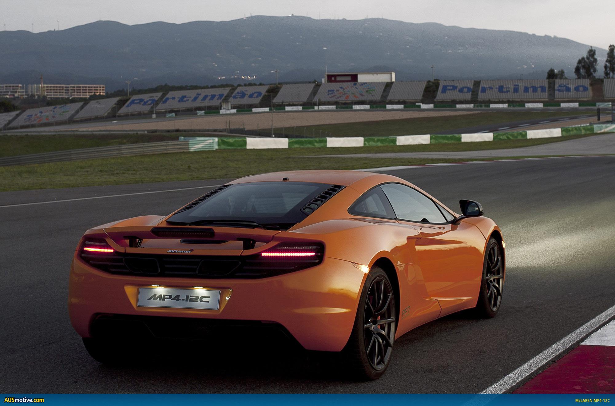 AUSmotive.com » McLaren MP4-12C: Official specs & performance data
