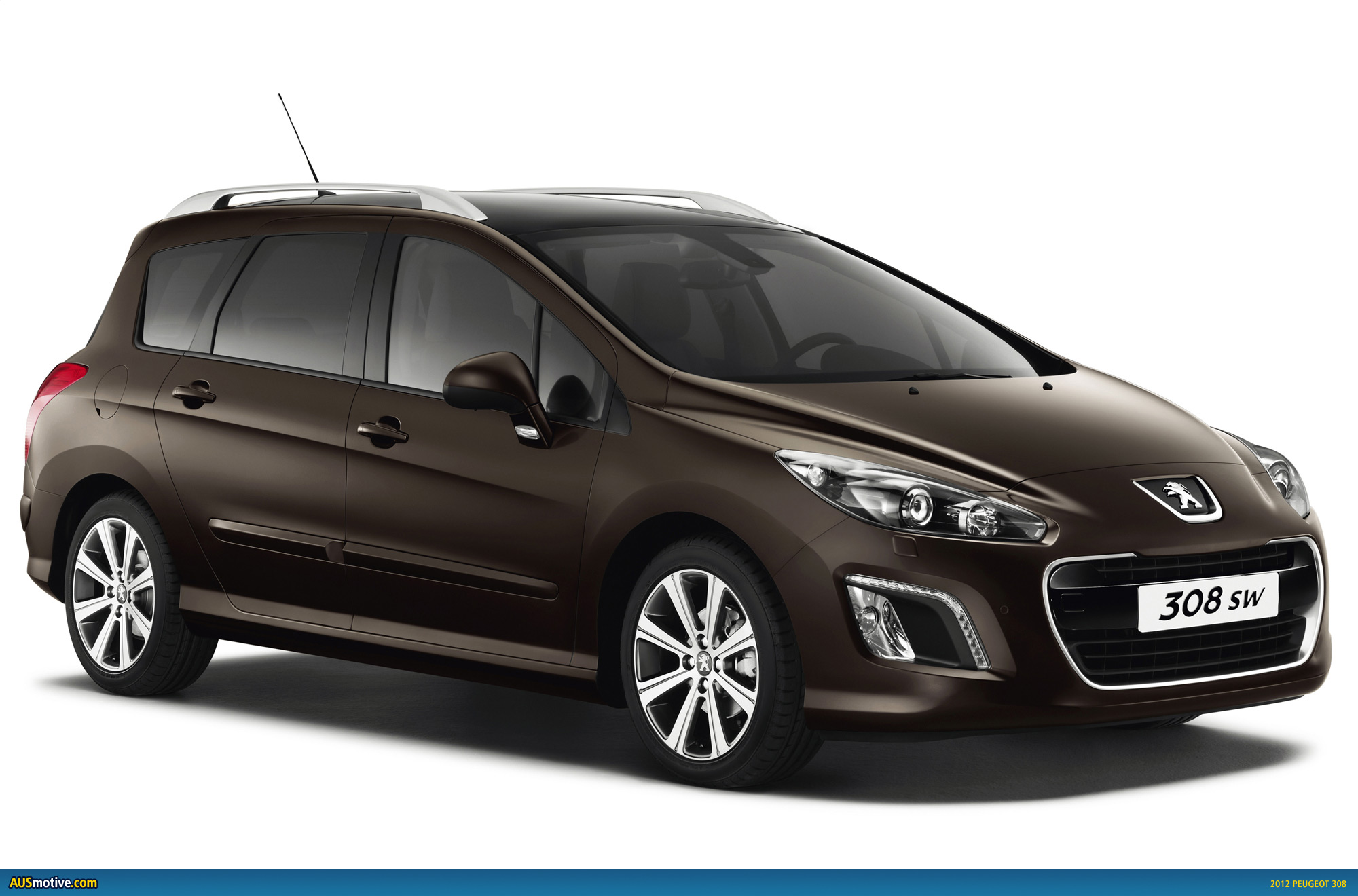 2012 peugeot 308 revealed ahead of mid year debut. Black Bedroom Furniture Sets. Home Design Ideas