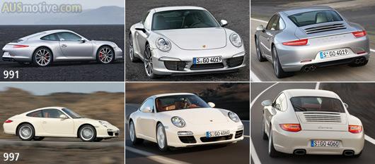 Porsche 911_991 v 997