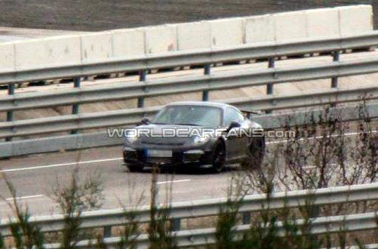 2013 Porsche 911 GT3 prototype