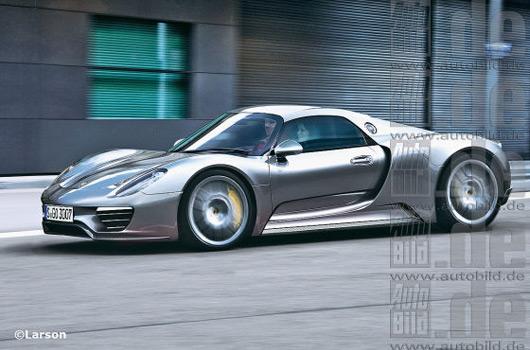 Porsche 918 Coupe rendering