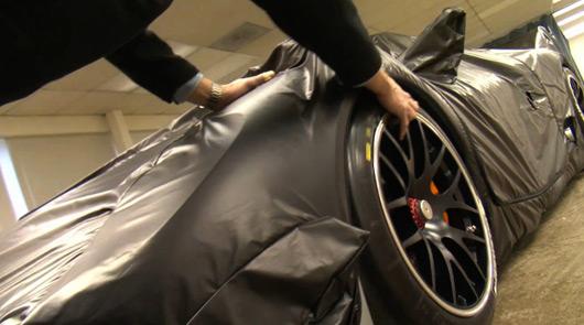 Porsche 918 racecar teaser