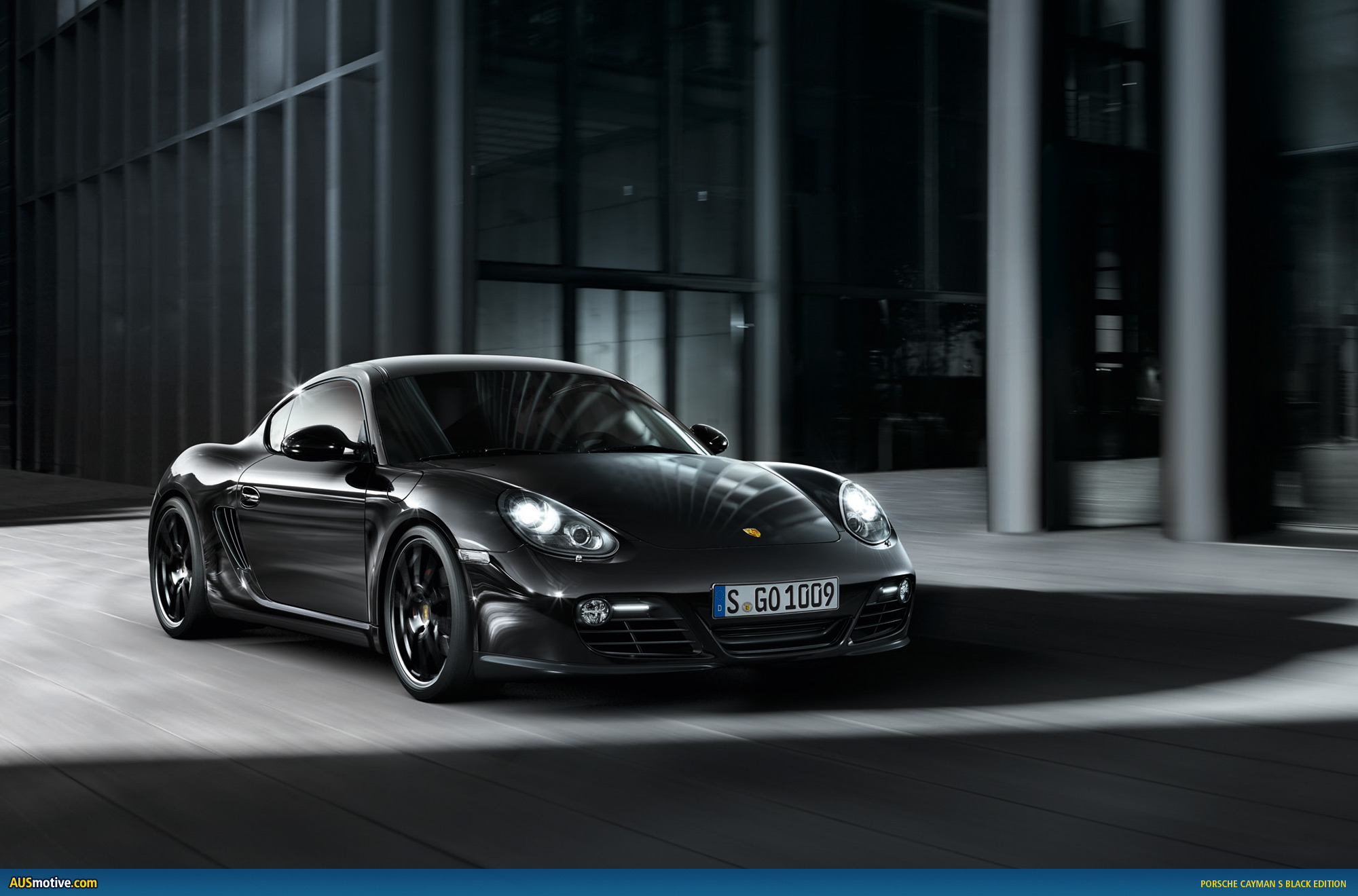 porsche cayman s black edition. Black Bedroom Furniture Sets. Home Design Ideas