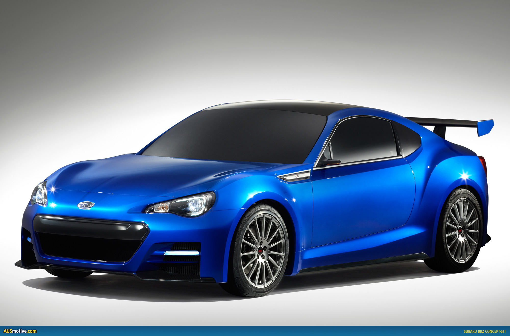 Ausmotive Com 187 La 2011 Subaru Brz Concept Sti