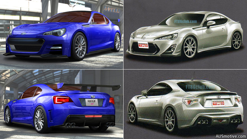 subaru brz v toyota ft 86. Black Bedroom Furniture Sets. Home Design Ideas