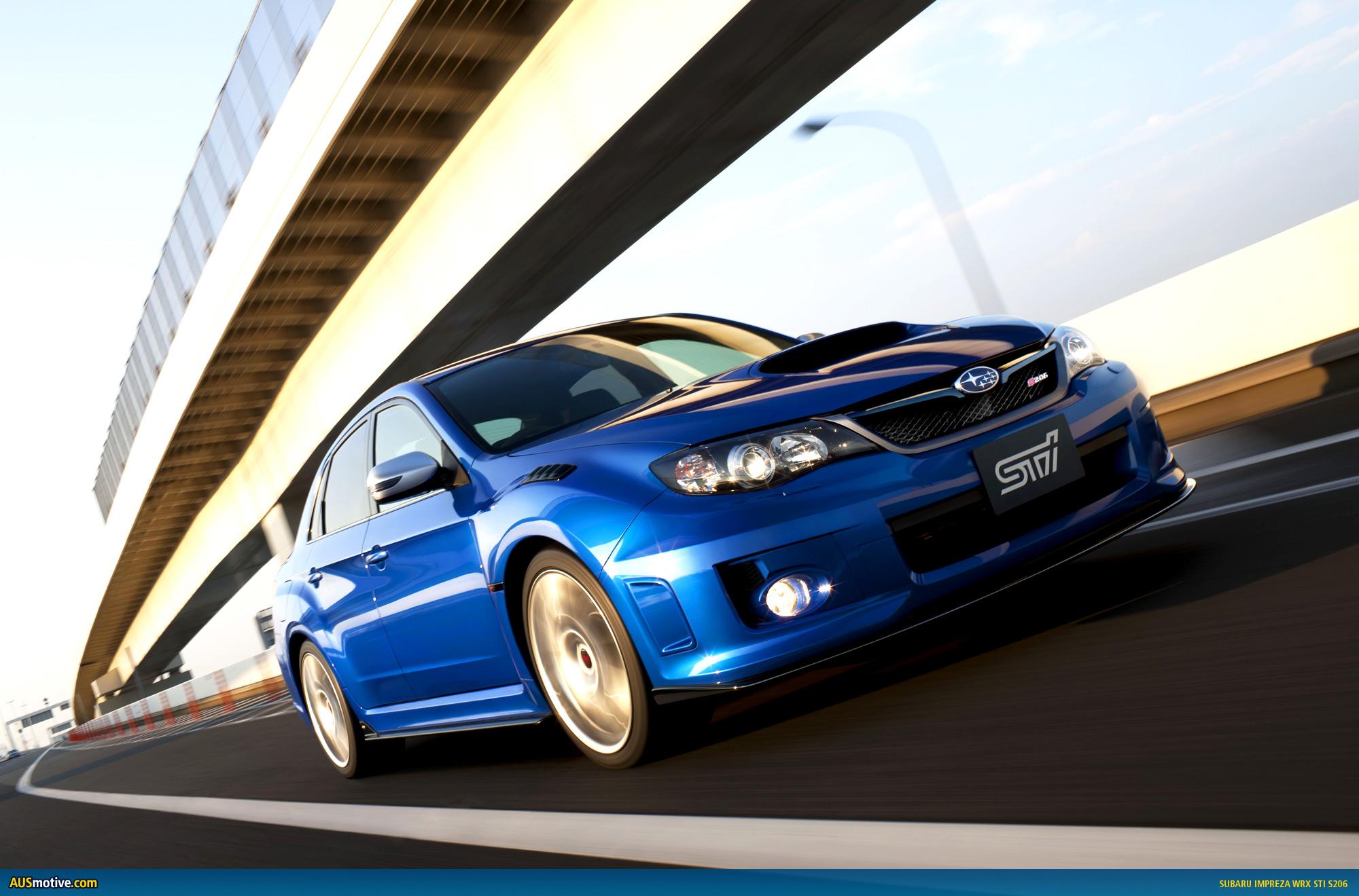 Ausmotive Com 187 Tokyo 2011 Subaru Impreza Wrx Sti S206