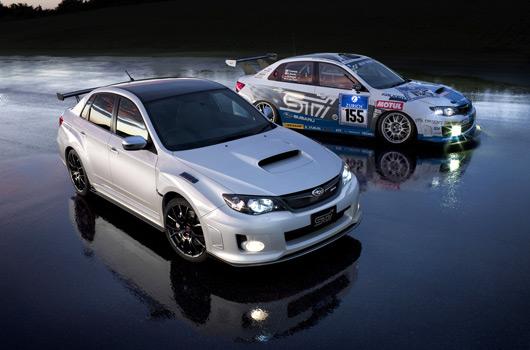 Subaru Impreza WRX STI S206 NBR package