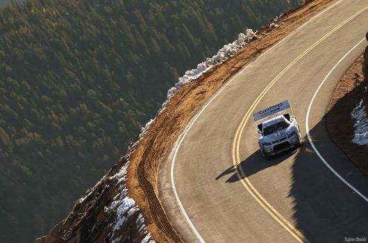 Suzuki SX4 at Pikes Peak