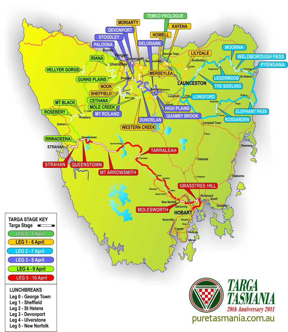 Ausmotive Com 187 Targa Tasmania 2011