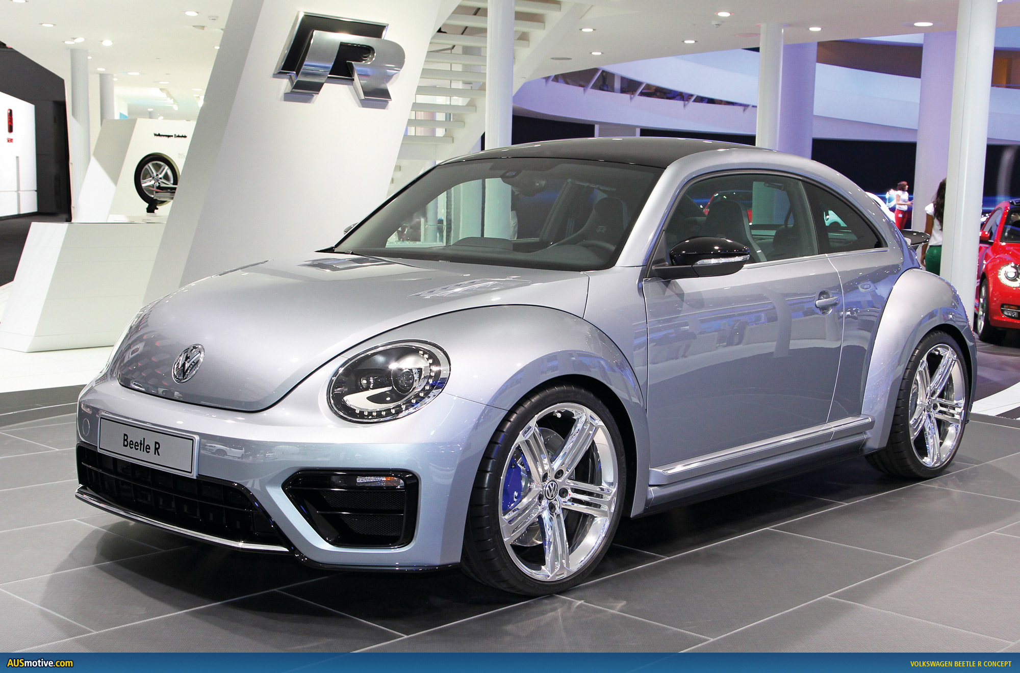 frankfurt 2011 volkswagen beetle r concept. Black Bedroom Furniture Sets. Home Design Ideas