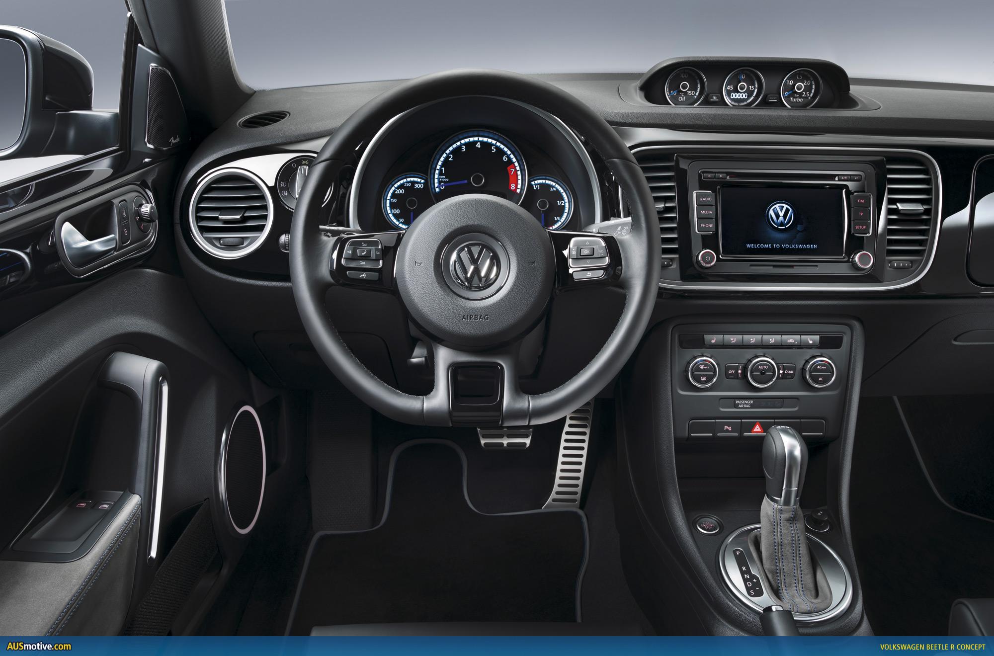 VWVortexcom  LA 2011 Volkswagen Beetle R Concept