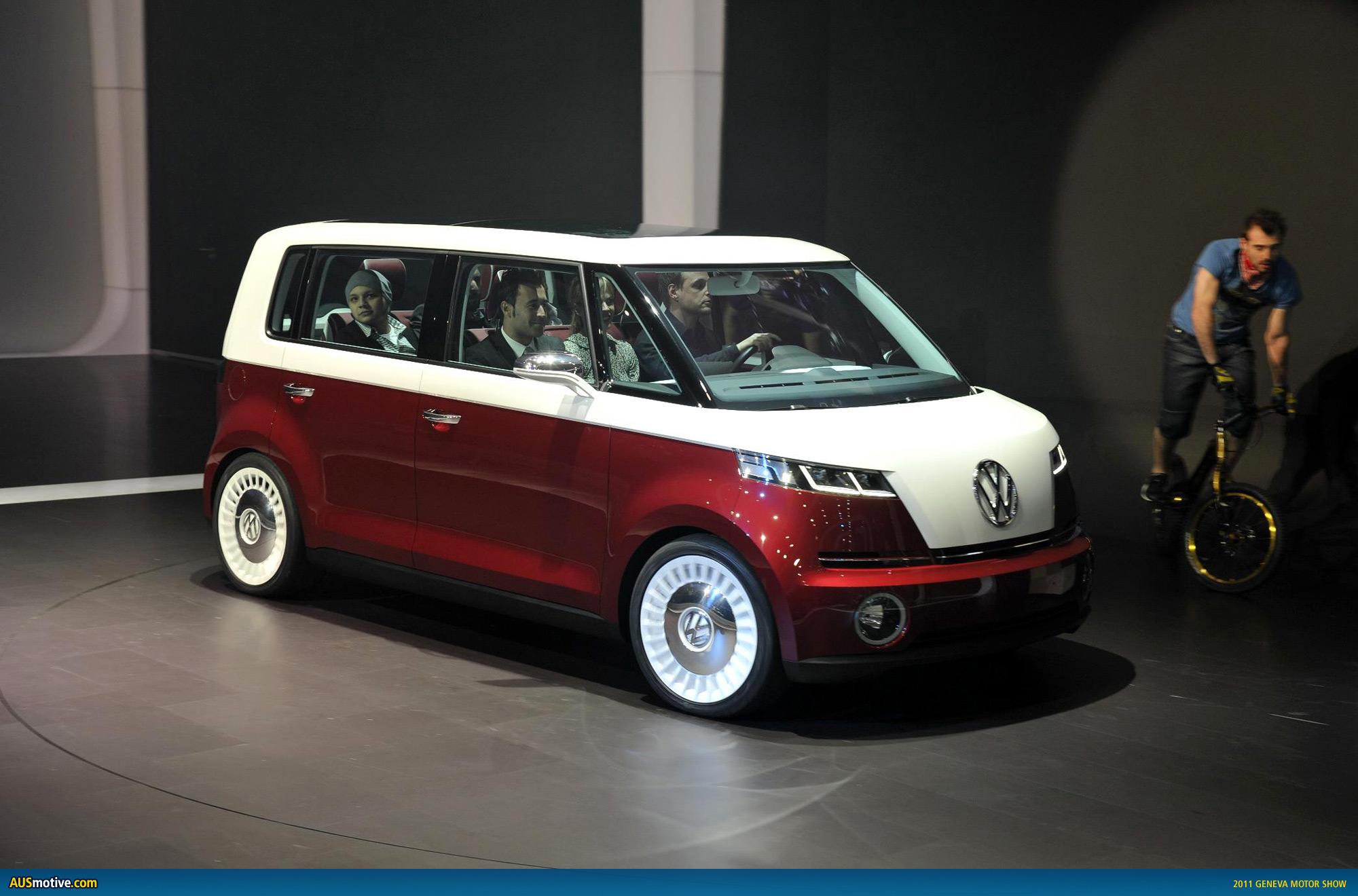 AUSmotive.com » Geneva 2011: Volkswagen Bulli concept
