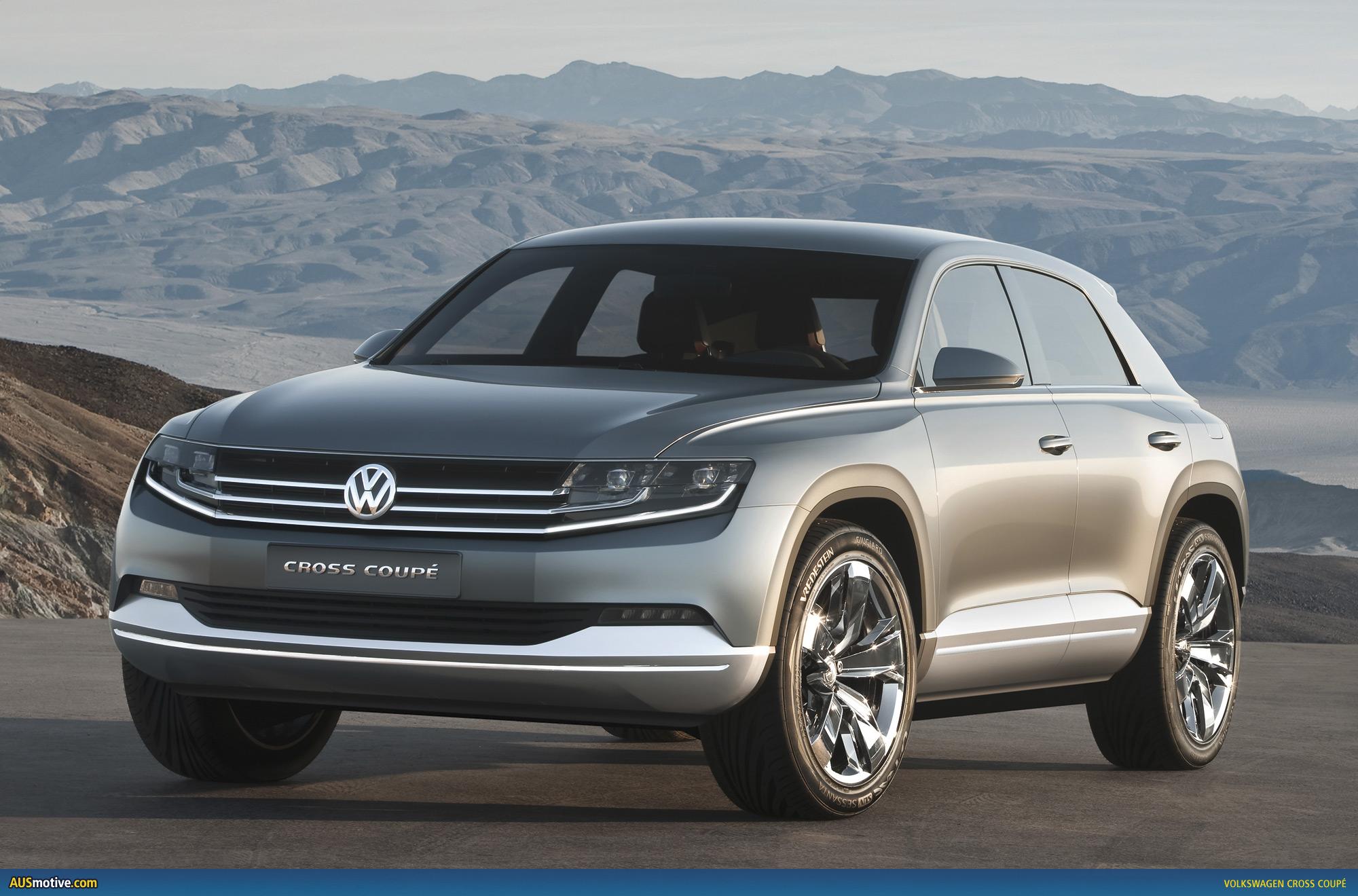 Vw Tiguan Coupe 2018 >> AUSmotive.com » Tokyo 2011: Volkswagen Cross Coupé