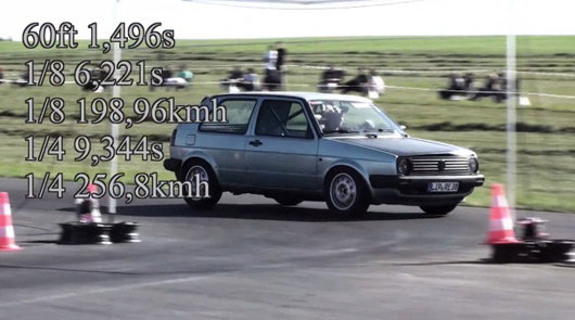 900hp Mk2 Golf