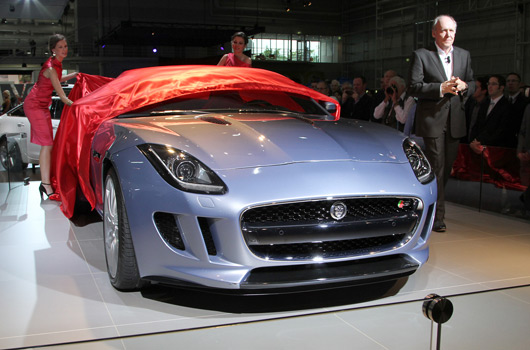 Jaguar F-type at the 2012 Australian International Motor Show