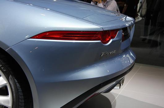 Jaguar F-type at the 2012 Australian International Motor Show