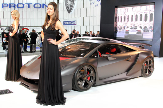 Lamborghini at the 2012 Australian International Motor Show