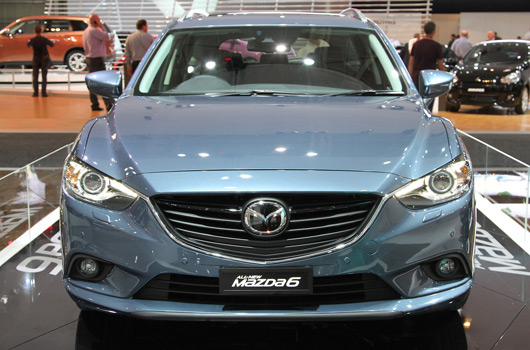 Mazda6 at the 2012 Australian International Motor Show