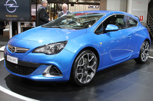 Opel at the 2012 Australian International Motor Show