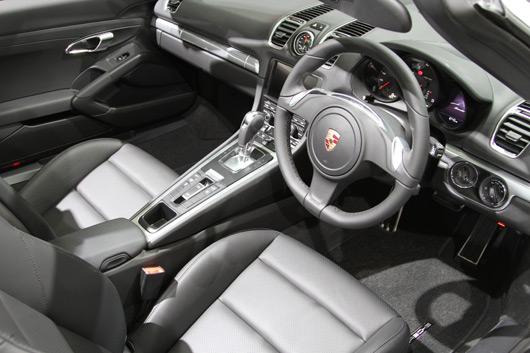 Porsche Boxster at 2012 Australian International Motor Show