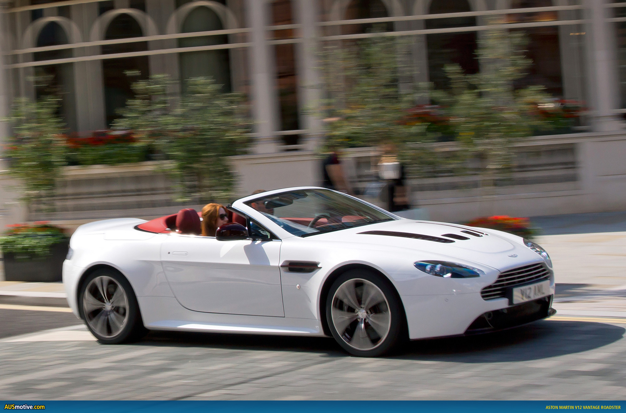aston martin v12 vantage roadster revealed. Black Bedroom Furniture Sets. Home Design Ideas