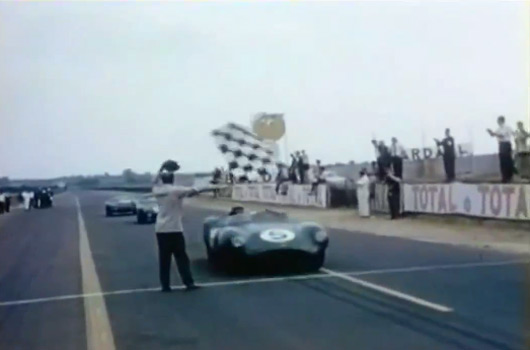 Aston Martin DBR1 winning Le Mans in 1959