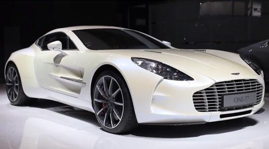 Ausmotive Com A Closer Look At The Aston Martin One 77