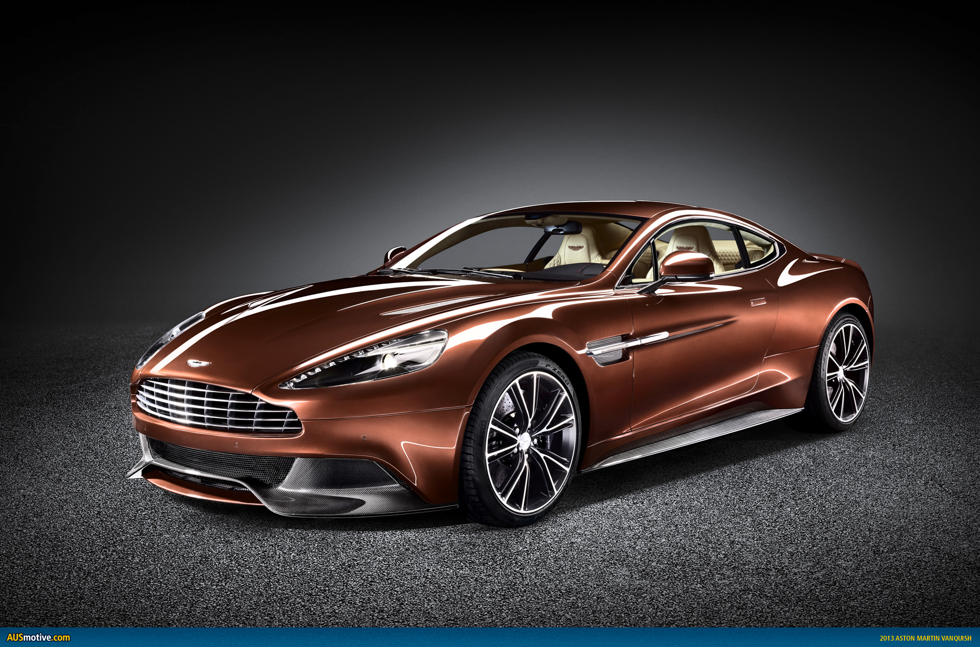 Ausmotive Com 187 Aston Martin Vanquish Revealed