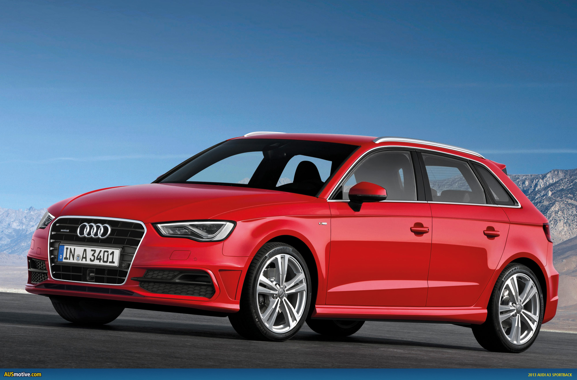 Audi australia to price new a3 from 35 600 for Audi a3 sportback dimensioni