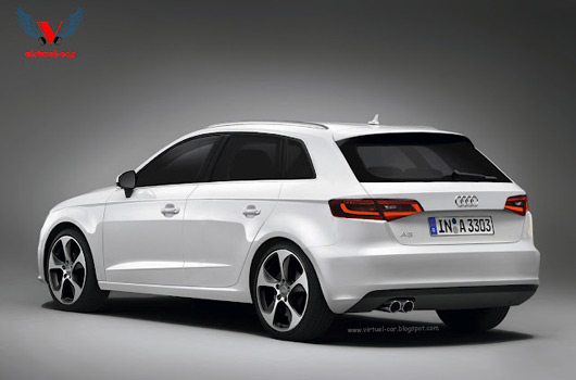 audi a3 sportback to join paris posse. Black Bedroom Furniture Sets. Home Design Ideas