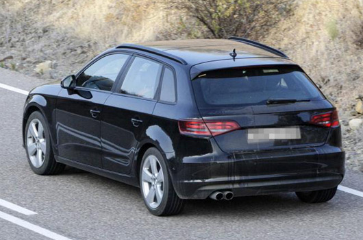 2013 audi a3 sportback spotted. Black Bedroom Furniture Sets. Home Design Ideas