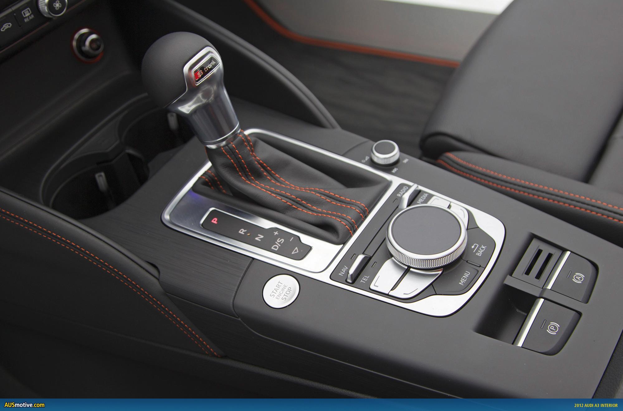 Ausmotive Com 187 2012 Audi A3 Interior And More Revealed