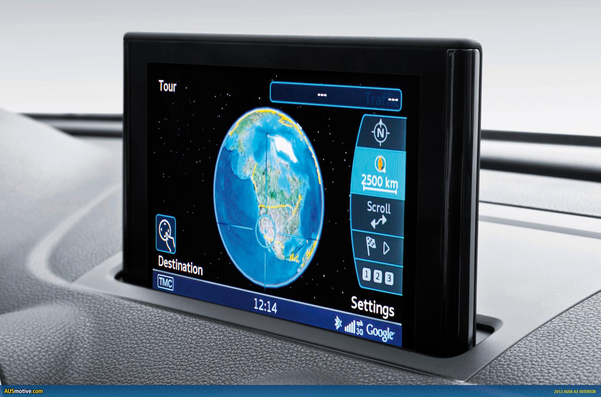 AUSmotive com » 2012 Audi A3 interior (and more) revealed
