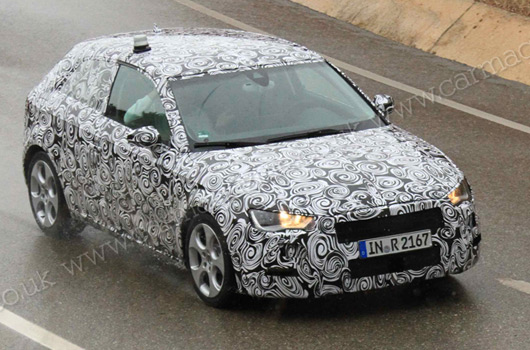 AUSmotive.com » New 2012 Audi A3 spy shots