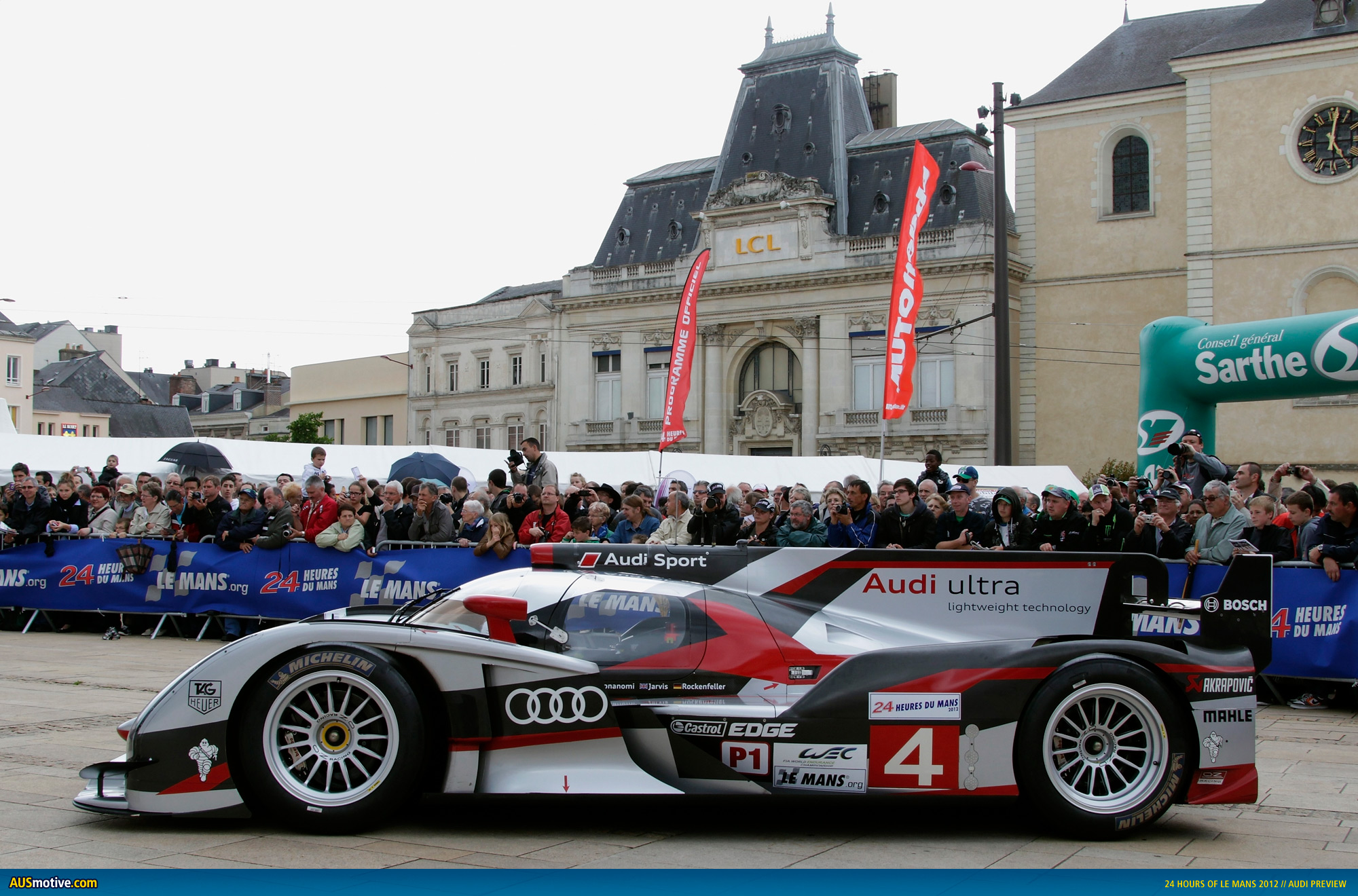 audi previews 24 hours of le mans. Black Bedroom Furniture Sets. Home Design Ideas