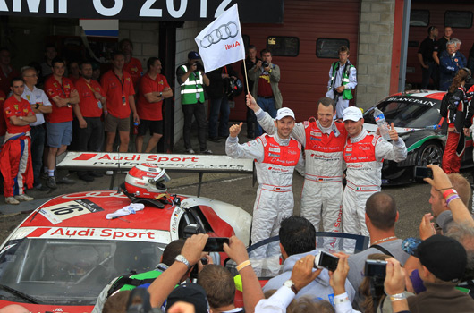 Audi R8 LMS ultra wins 2012 Spa 24 hour