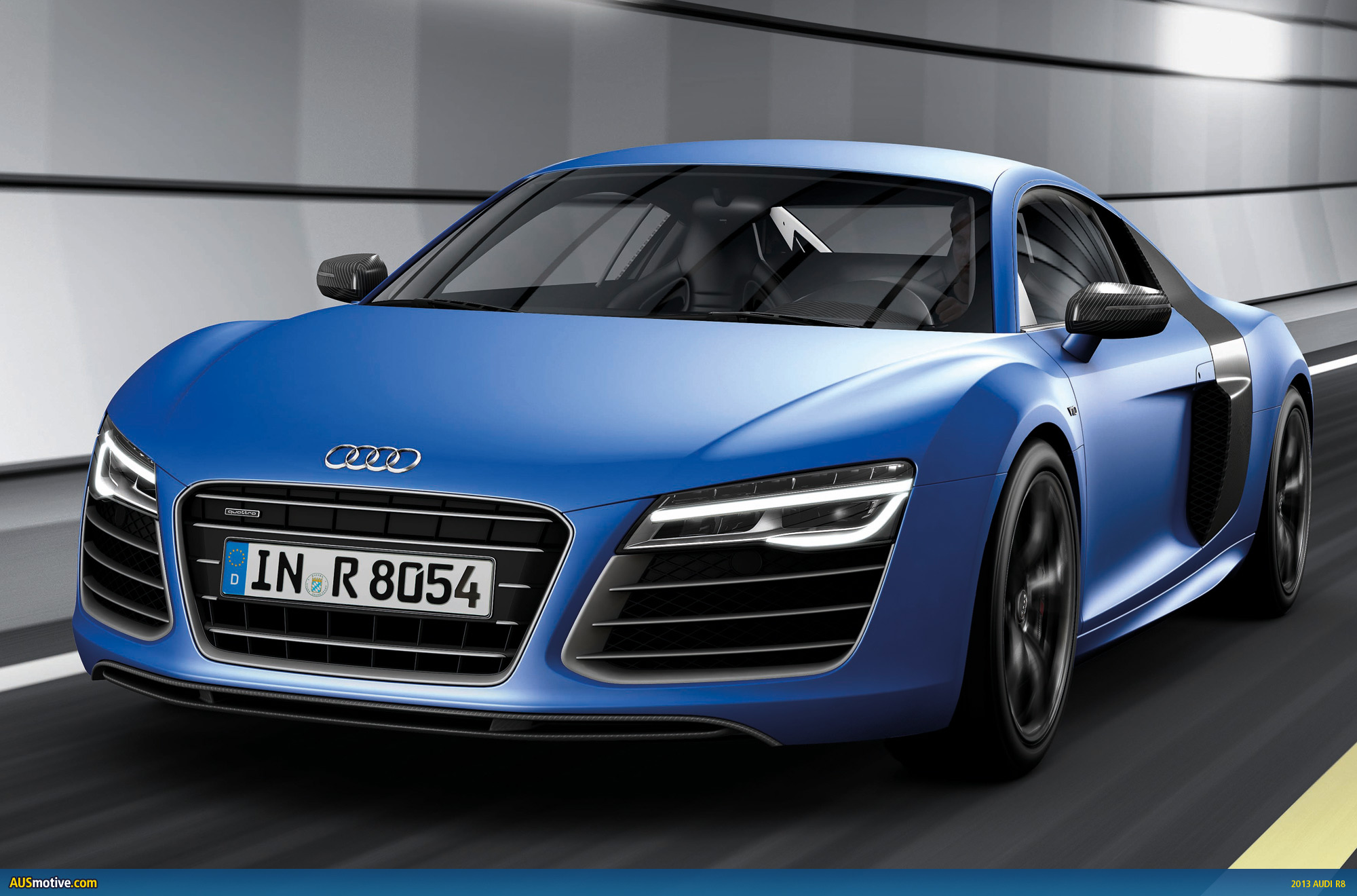 2013 audi r8 facelift revealed. Black Bedroom Furniture Sets. Home Design Ideas