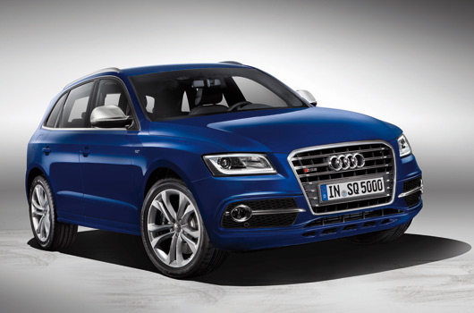 Audi SQ5 TDI revealed at Le Mans - Ausmotive.com