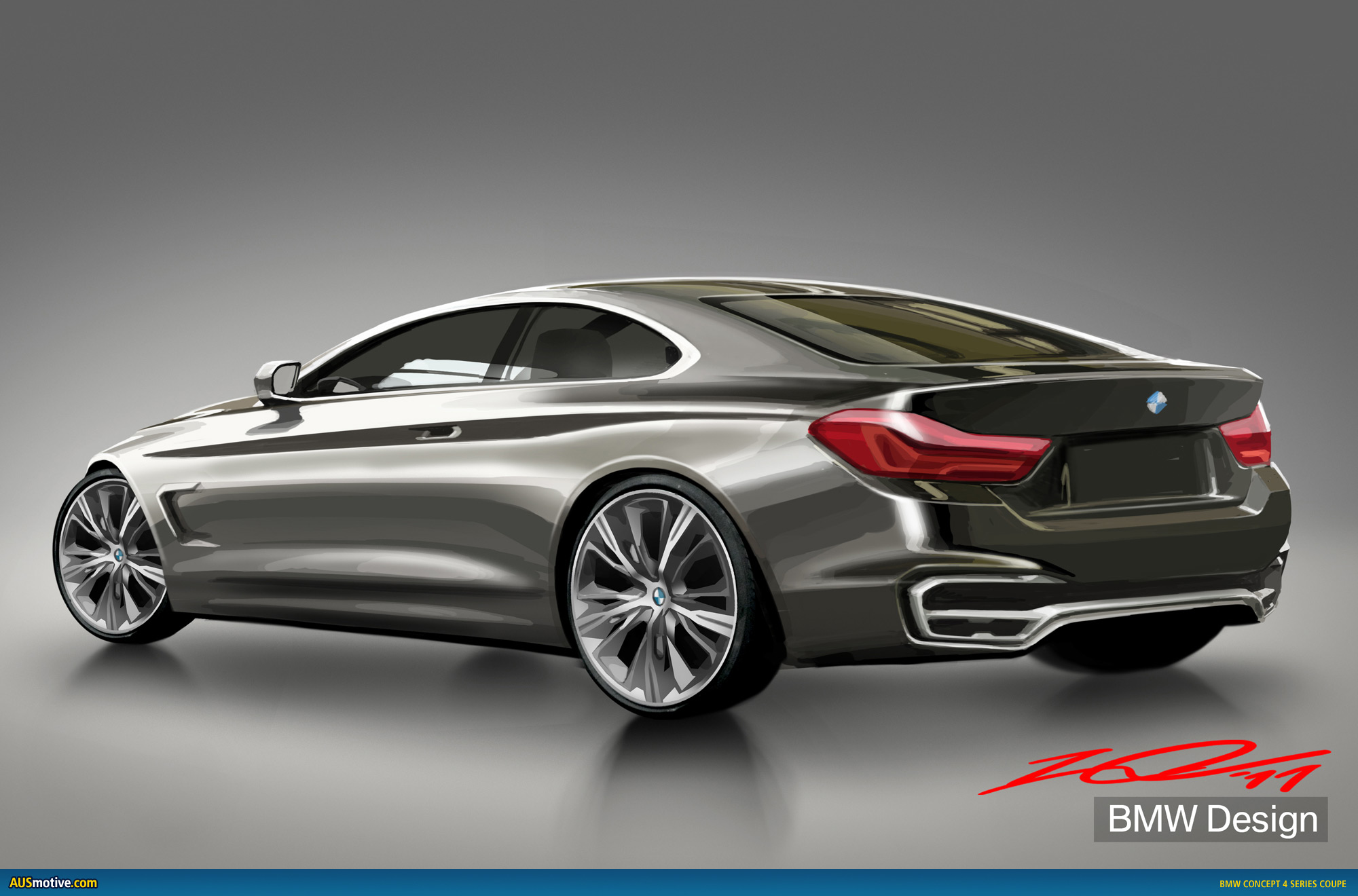 bmw concept 4 series coupe revealed. Black Bedroom Furniture Sets. Home Design Ideas