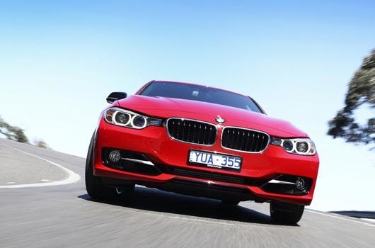 BMW F30 3 Series sedan