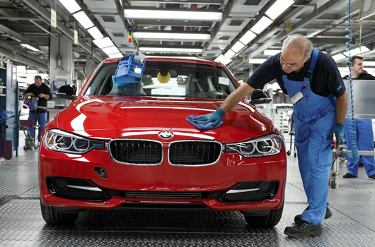 BMW F30 3 Series assembly