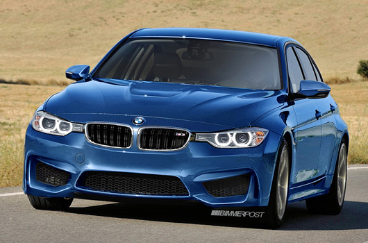 BMW M3 rendering by WildSpeed