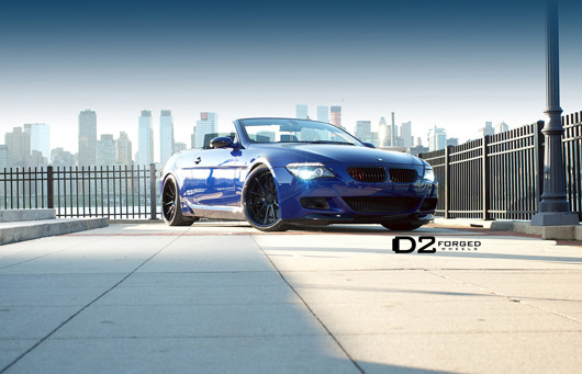 BMW M6  on 21 inch D2 Forged CV11 Deep Concave wheels