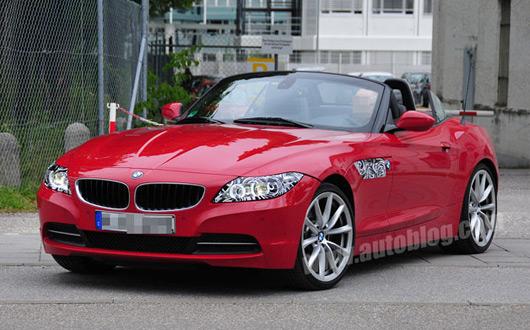 BMW Z4 LCI spied