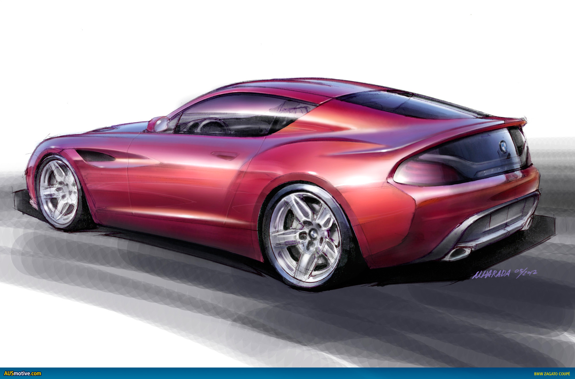 Ausmotive Com 187 Bmw Zagato Coup 233 Revealed